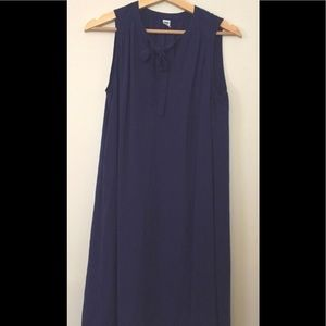 Old navy shift dress with neck tie